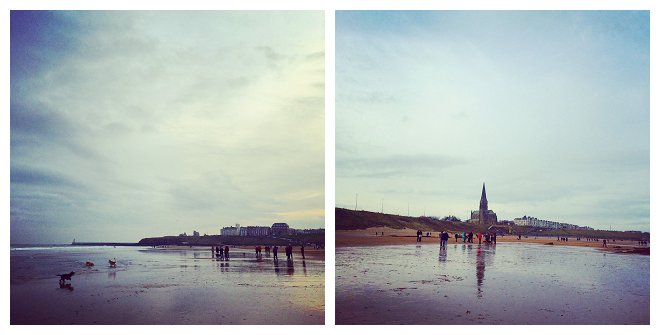 Tynemouth Beach, Boxing Day