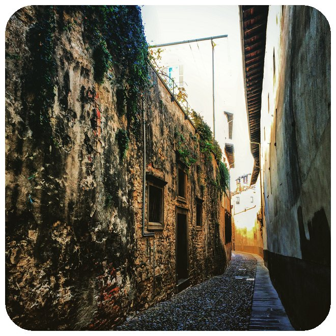 The Backstreets of Bergamo