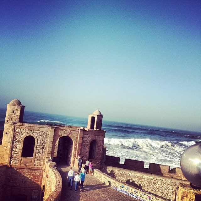 Winter in Essaouira, Morocco
