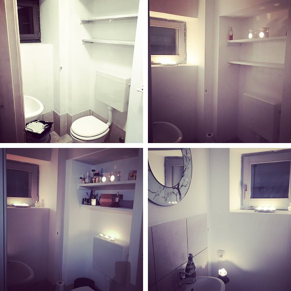 7 March 2017 : Mini Bathroom Makeover