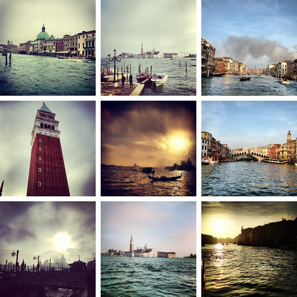 Venice - two hours away by road or sea...
