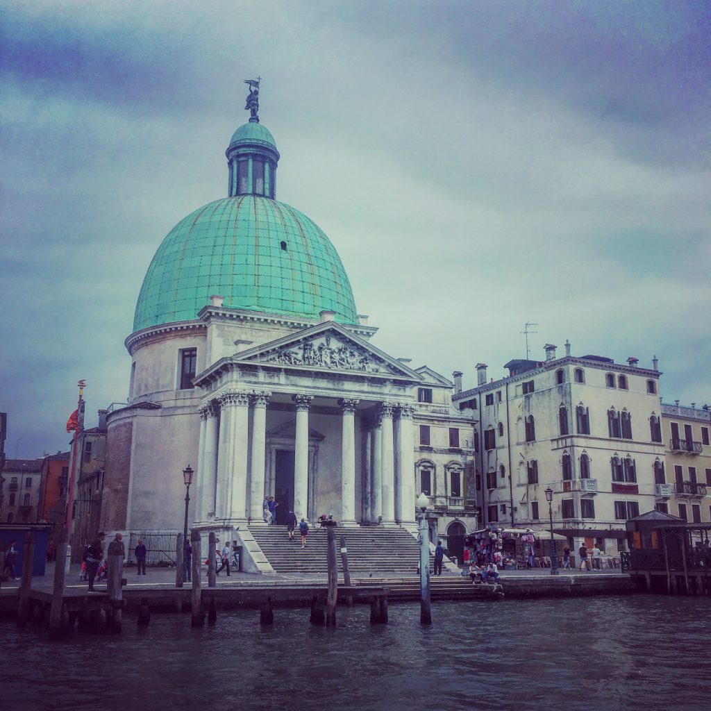 San Simeone Piccolo Church on the Grand Canal, Venice