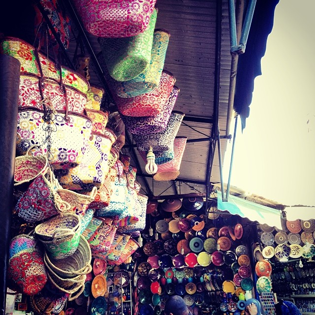 Souk Shopping : Marrakech