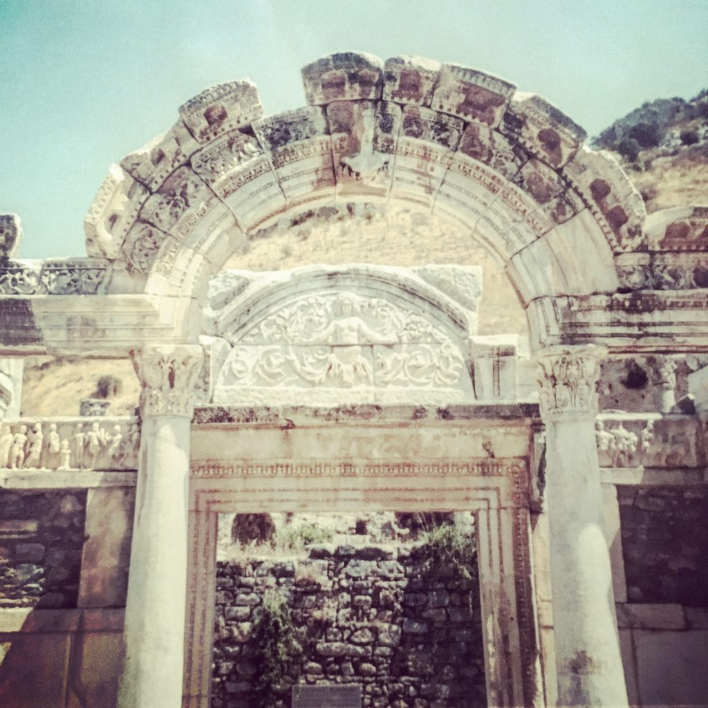 The Temple of Hadrian, Ephesus