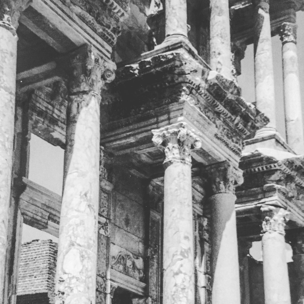 Colonnades of The Library of Celsus, Ephesus