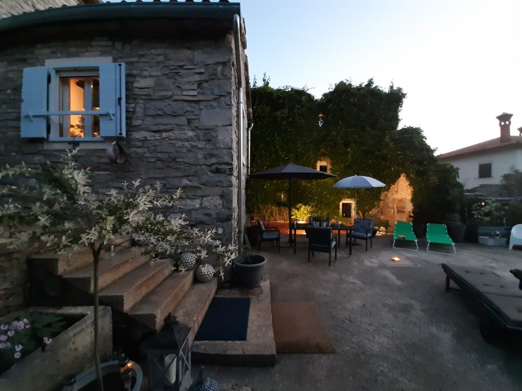 Our renovation project in Istria...