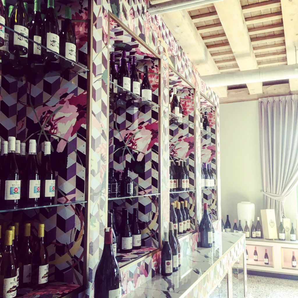 The Wine Room...