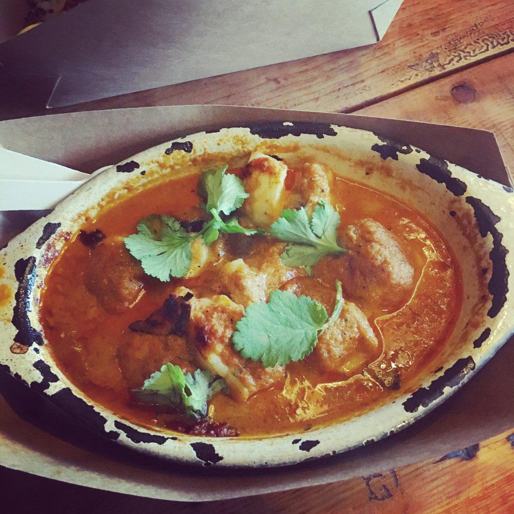 Goan Monkfish Curry : Riley's Fish Shack, Tynemouth