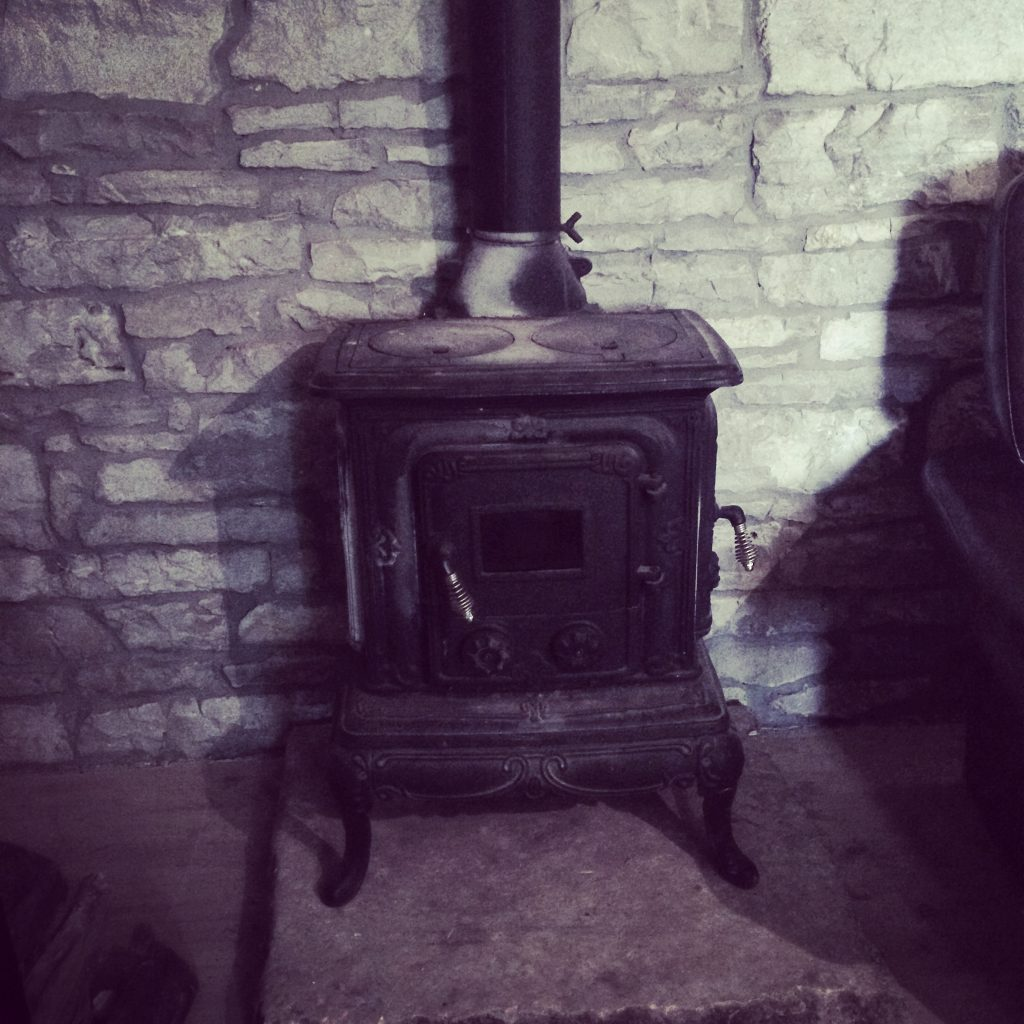 We love a woodburner...