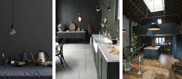 The ideas for the kitchen...