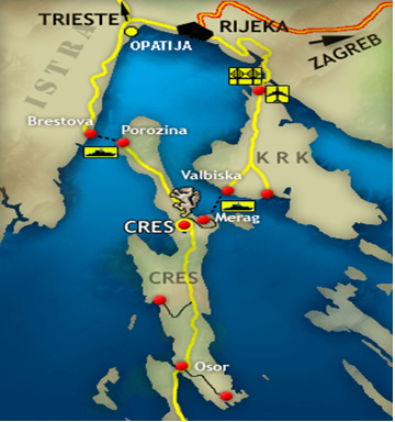 Crossing to Cres