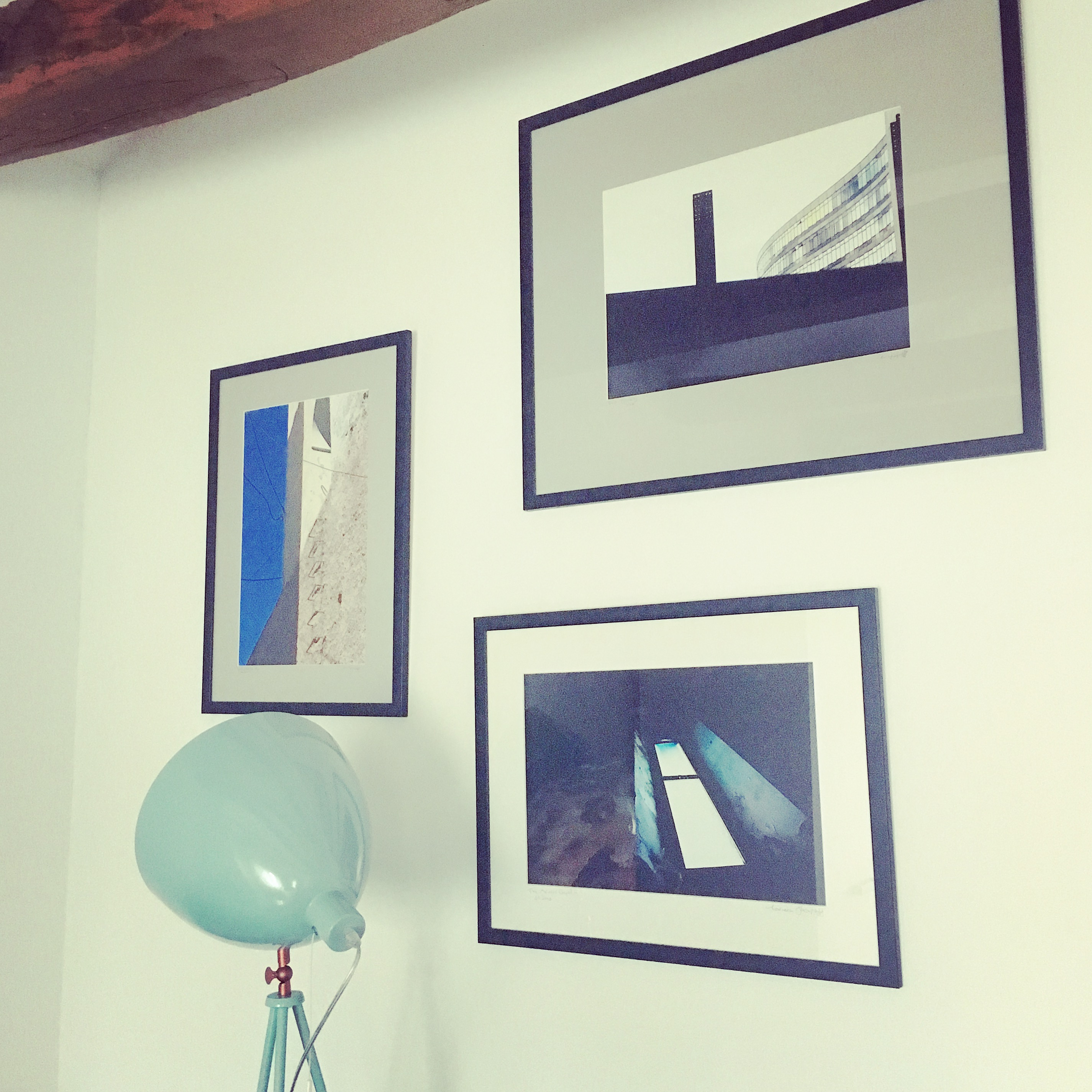Lovely to have artwork back on the walls. Photography by Lawrence Yusupoff, Didsbury.