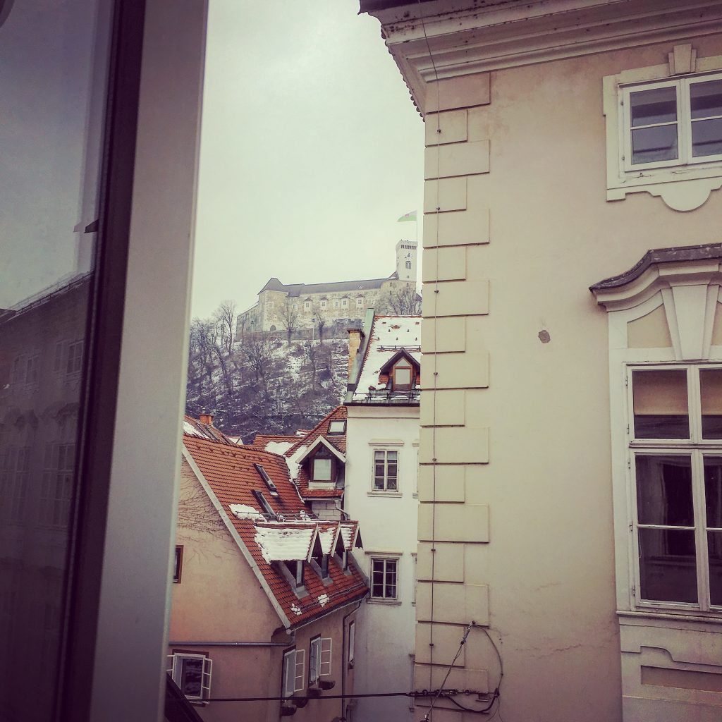 A room with a view - Ljubljana Castle