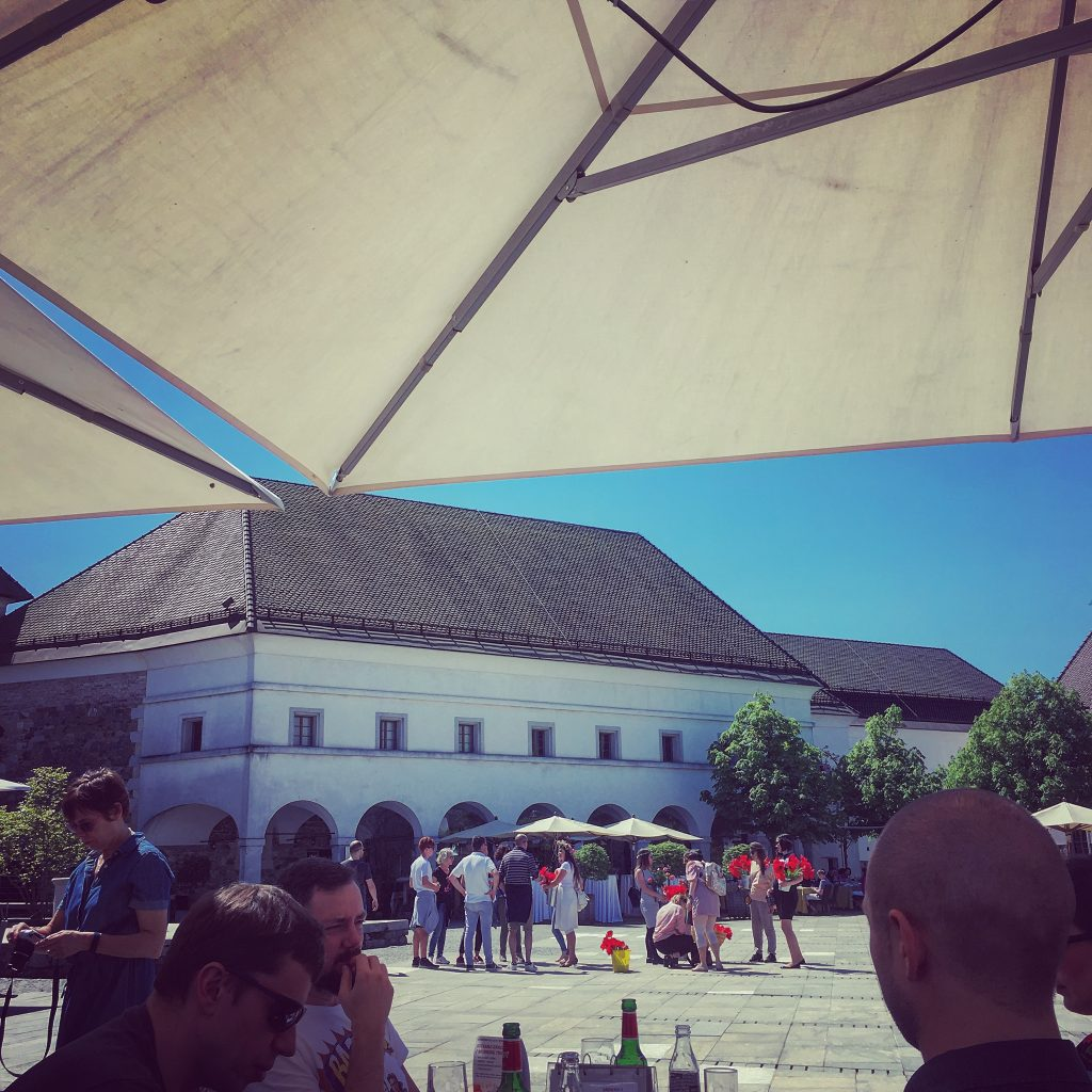 Hen Party, Slovenian Style : Ljubljana Castle