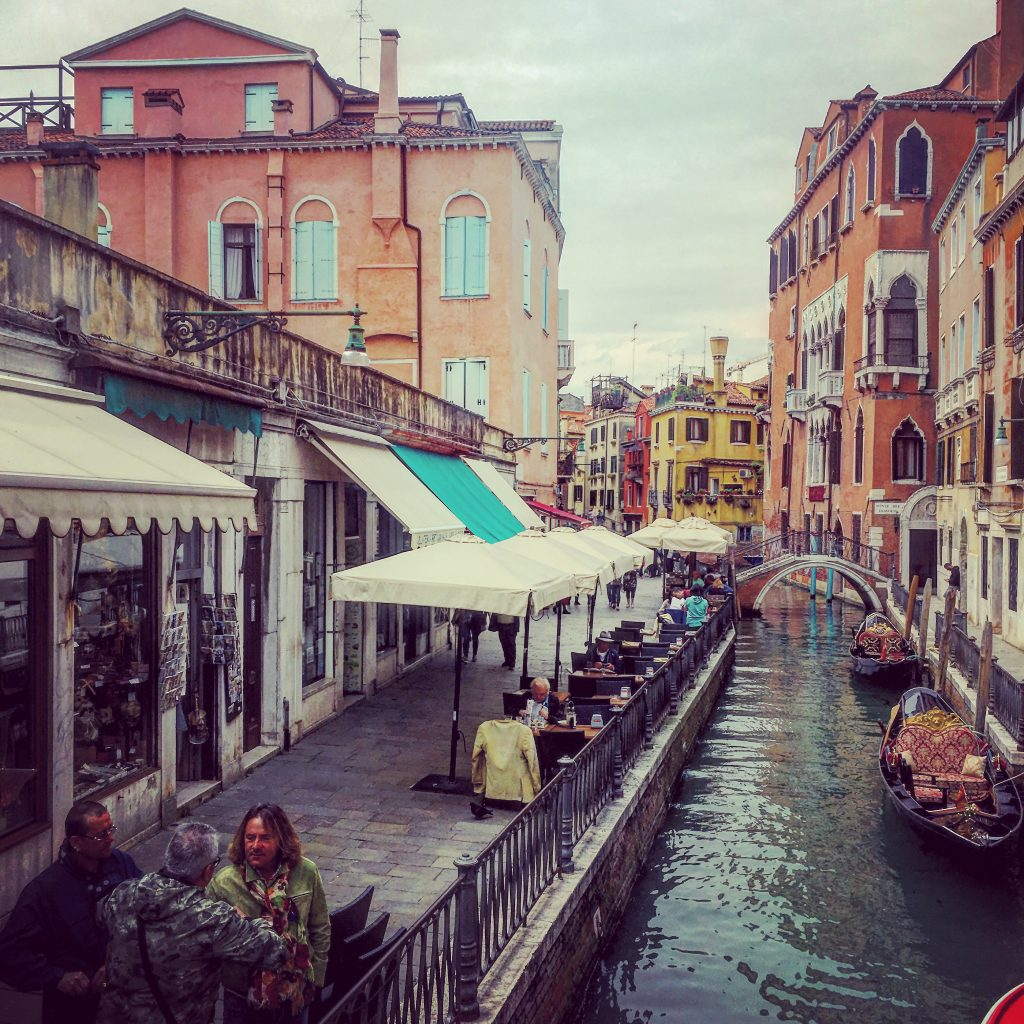 The colours of Venice