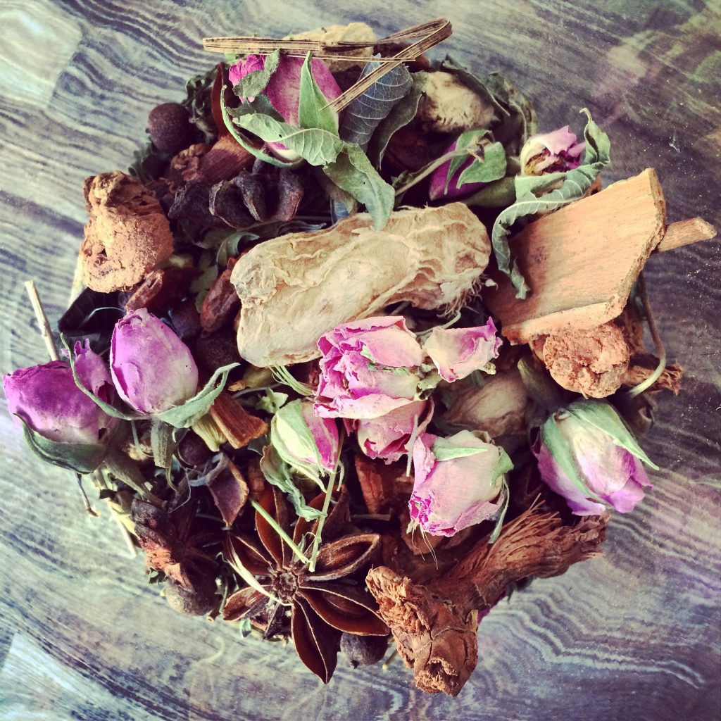 Yes, that actually is Rose Petal Moroccan Tea. Beautiful, isn't it?