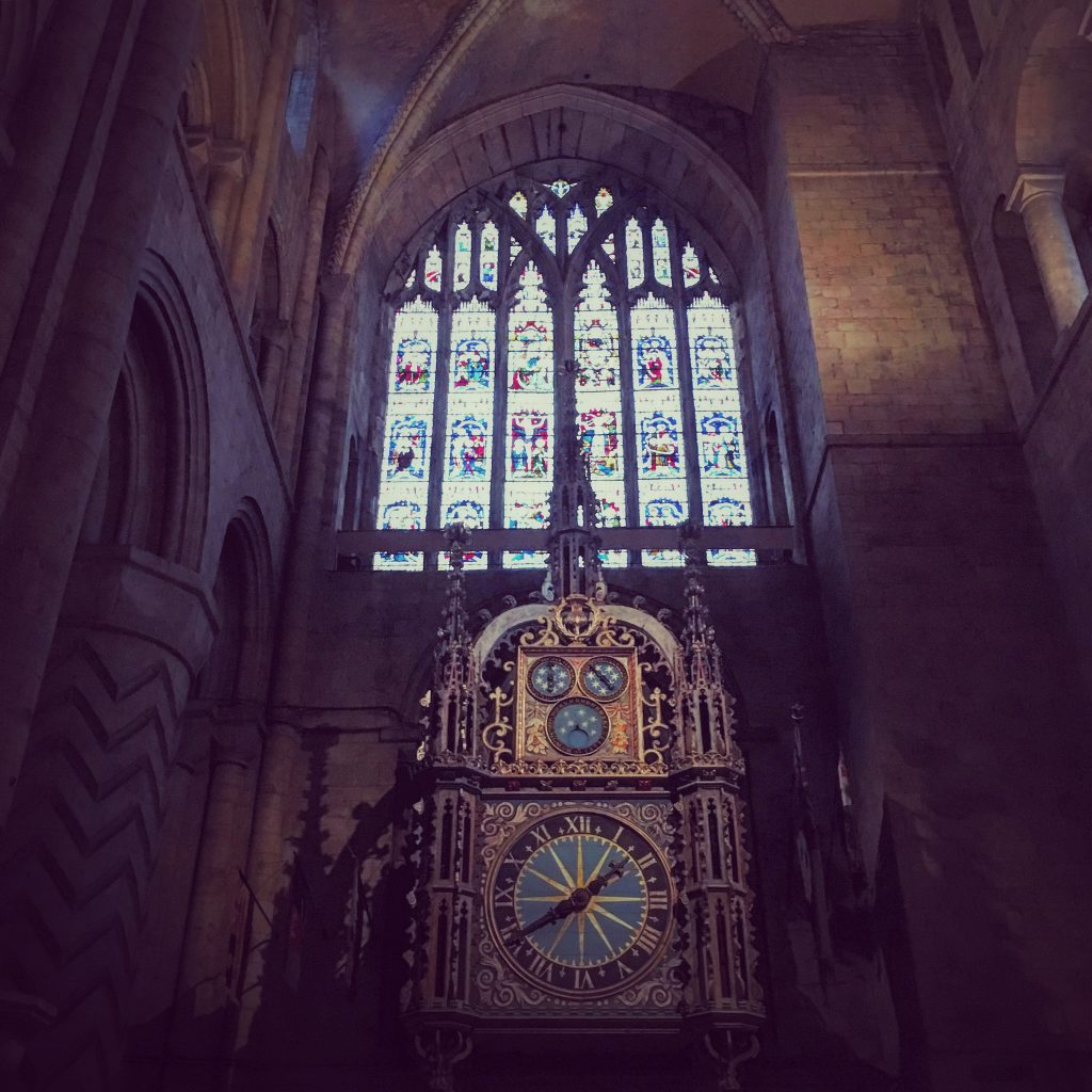 The Astronomical Clock, Durham Cathedral