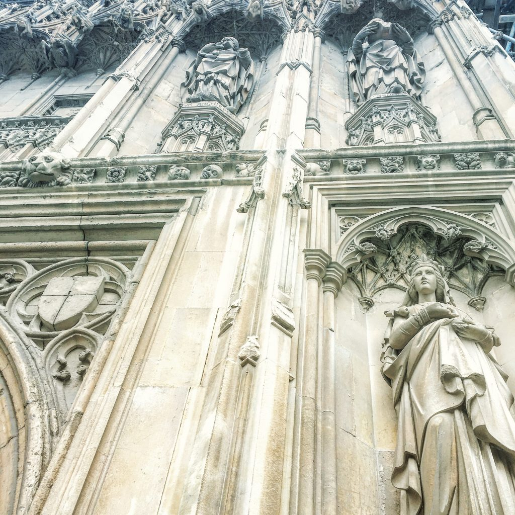 Intricate detailing. Canterbury Cathedral.