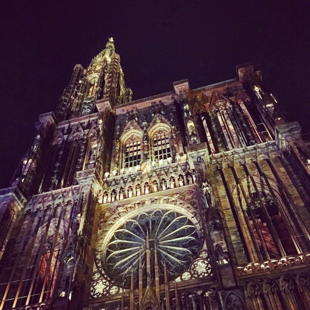 The Rose Window, Notre Dame Cathedral, Strasbourg