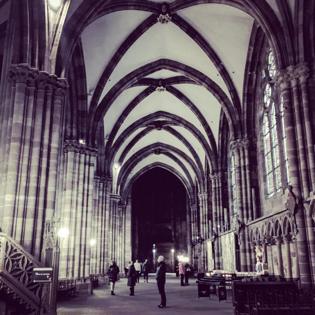 Gothic Interior : Strasbourg Cathedral
